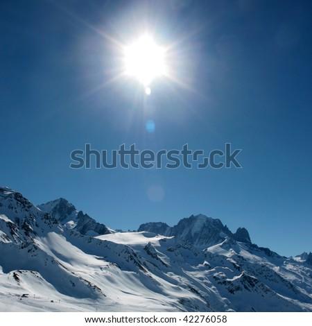 Sunny alps
