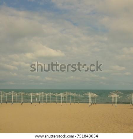 Sunny beach  #751843054