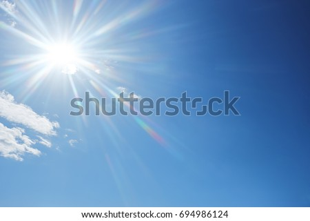 Sunny day afternoon - Shutterstock ID 694986124