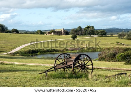Shutterstock Sunny day in the middle of nowhere in the countryside of Uruguay