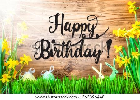 Alles Gute zum Geburtstag Happy birthday in German card Free