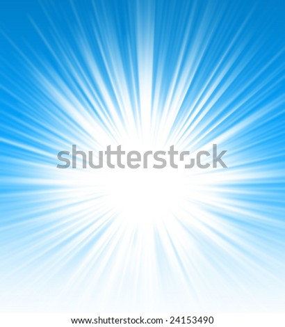 Sunny sky abstract background for design