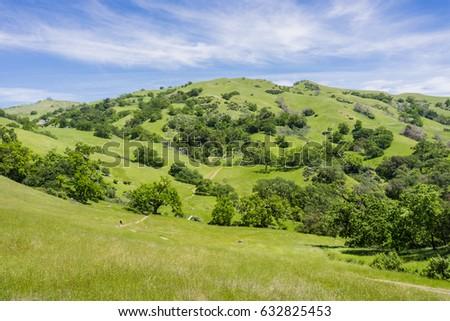 Sunol Regional Wilderness, San Francisco bay area, California Stockfoto ©