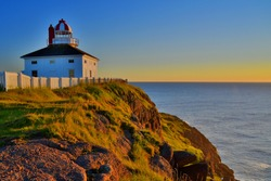 Sunrise at Cape Spear Lighthouse, Newfoundland & Labrador - the most eastern point in North America.
