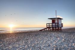 Sunrise at Cocoa Beach, Florida