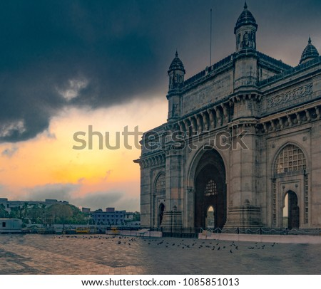 Sunrise at Gateway of India  #1085851013