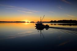 Sunrise at Greenwell Point, Australia