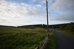 Sunrise at Quiet Country lane, Ireland