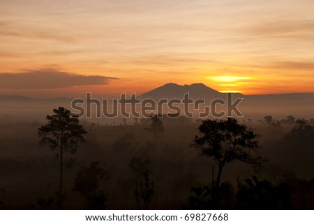 Sunrise at Tung Salang lauan