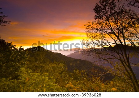 Sunrise, Guanyuan, Taroko National Park, Taiwan