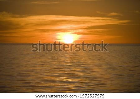 Sunrise, Gulf of California, Sea of Cortez, Mexico