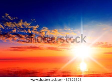 Sunrise Horizon Visions of Eden #87823525