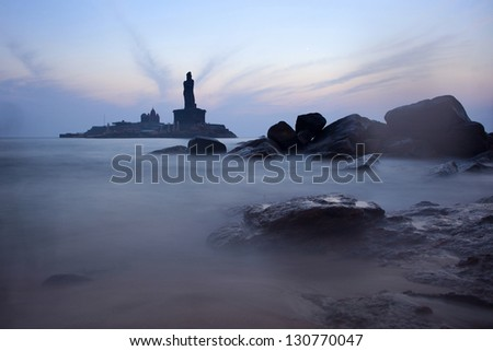 Sunrise  in Kanyakumari, India