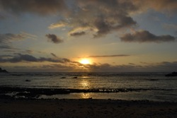 Sunrise in Sabtang Island, Batanes, Philppines.