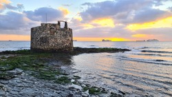 Sunrise in San Cristobal Castle (Las Palmas de Gran Canaria)