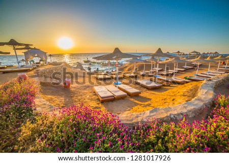 Sunrise in Sharm el Sheikh, Egypt