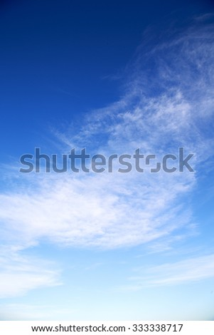 sunrise  in the colored sky white soft clouds and abstract background - Shutterstock ID 333338717