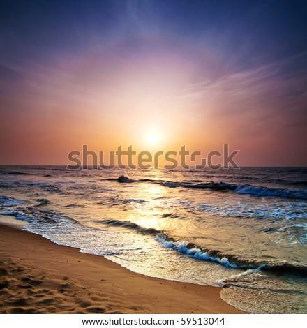 sunrise in the sea #59513044