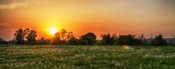 Sunrise is a great time to relax in nature for energy for the whole day