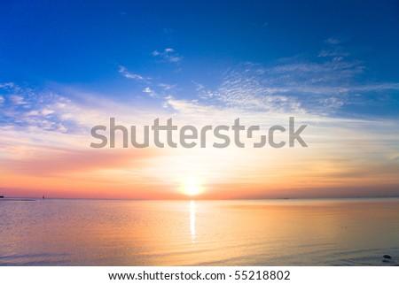 Sunrise is born