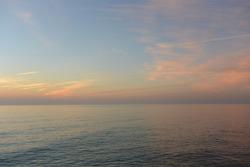 Sunrise lake ontario