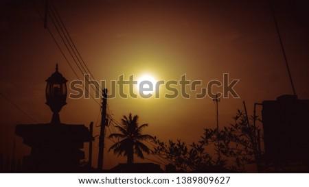 Sunrise like sunset, sunset like sunrise.  #1389809627