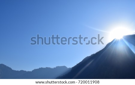 Sunrise | Mountains | Sky #720011908