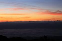 Sunrise of Doiphahompok nation park,Chiangmai, Thailand