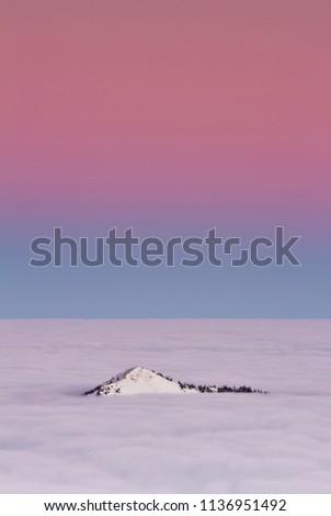 Sunrise of the Low Tatras (Sina Peak - Slovakia).