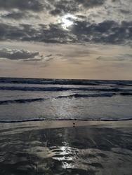sunrise on Cocoa Beach Florida