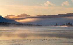 Sunrise on Loch Tulla