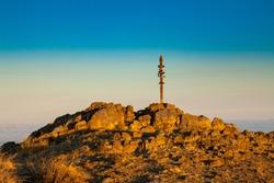 Sunrise on Mission Peak in Fremont - California
