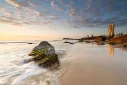 Sunrise on the Gold Coast, Queensland.