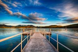 Sunrise Otago Peninsula Dunedin New Zealand