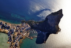 Sunrise over Calpe with the Rock of Ifach - Valencian Community -Spain-