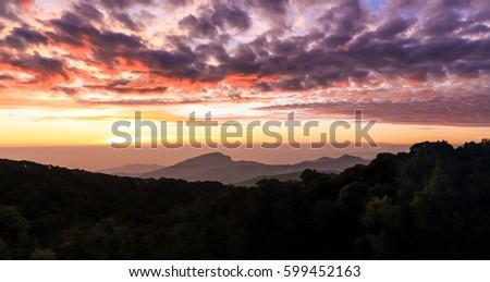 Sunrise sky #599452163