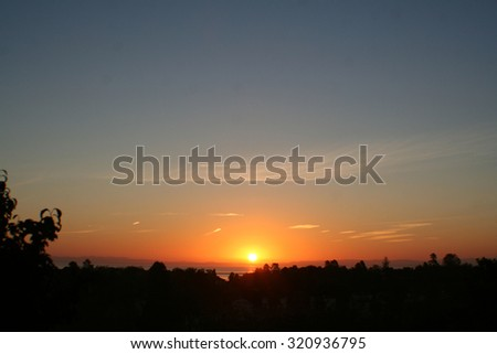 Sunrise stock photo #320936795