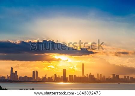 Sunrise, Sunrise Theatre, Shenzhen Bay, Guangdong, China