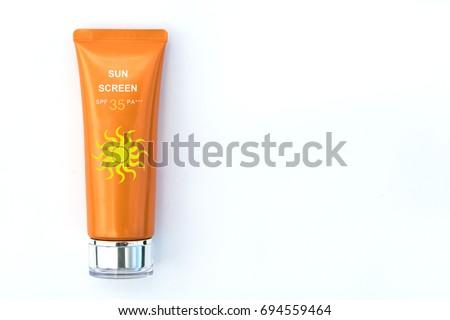 Sunscreen Stock foto ©