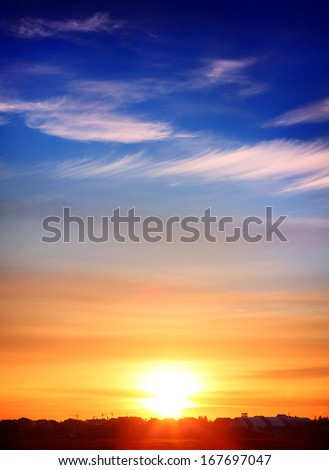 Sunset #167697047