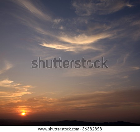 sunset #36382858