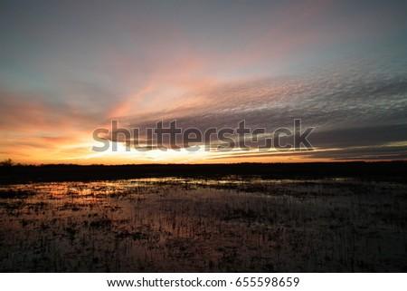 sunset Zdjęcia stock ©
