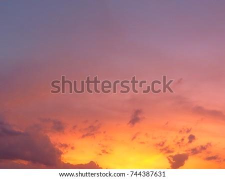 Sunset #744387631