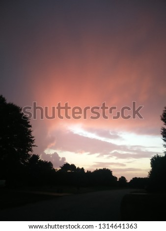 Sunset and Sunrise #1314641363