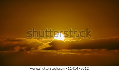 sunset and the sky #1141475012