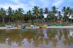 Sunset Arugam Bay - Sri Lanka - circa 2013