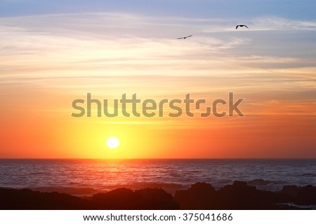 Shutterstock Sunset at Carmel - CA