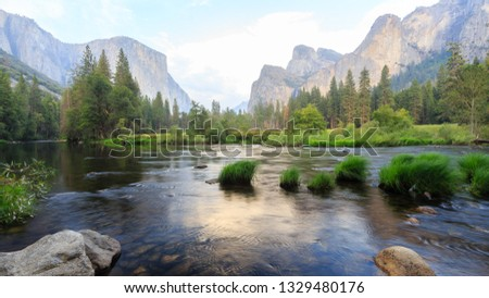 Sunset at Gate of Valley, Yosemite Valley