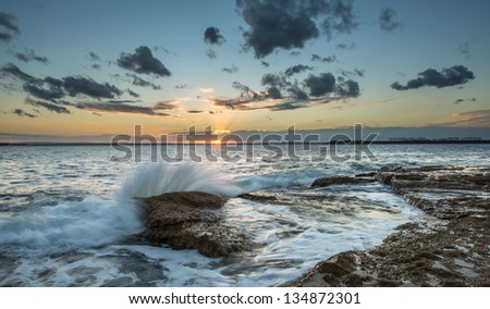 Sunset at La perouse, Sydney