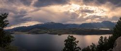 Sunset at Lake Dillon Colorado